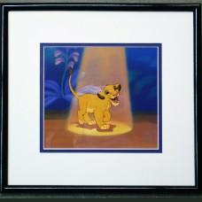 Disney Sericel FRAMED Samba's Spotlight 16 X 15