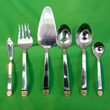 INTERNATIONAL RHYTHM GOLD 6 Piece Hostess Set