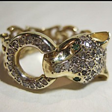 Panther Ring 14kt Link style $780.