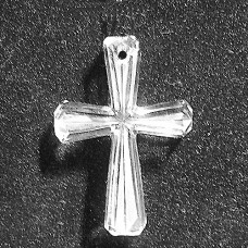 """Waterford Crystal Cross signed Waterford 2"""" long"""