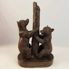 Weems Katherine Lane Bears With Tree Sculpture