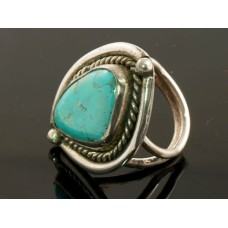 Navajo Turquoise ring silver 401
