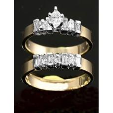 diamond solitaire set