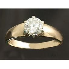Diamond Solitaire 1Caret Stone Appraisal Cert #4606