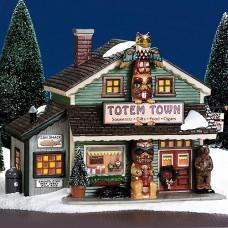 Department 56 Totem Town Souvenir Shop 56.55053