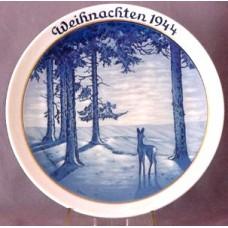 Rosenthal Christmas Plate 1944