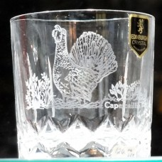 "Edinburgh Scottish Game Birds Capercaillie O. Fashioned 3"""