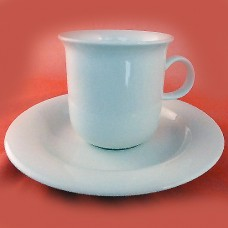 Arabia Finland Arctica Cup & Saucer 3 inches tall