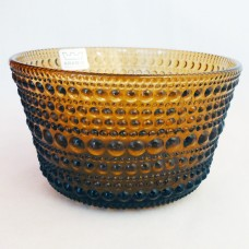 Arabia Finland Kastehelmi Open Sugar Brown 2 inches tall
