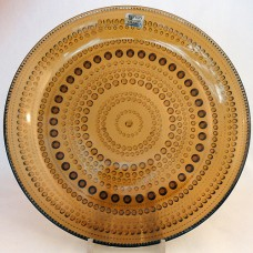 Arabia Finland Kastehelmi Salad Brown 7 inches in diameter