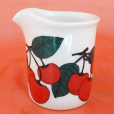 Arabia Finland Kirsikka Creamer 2.75 inches tall