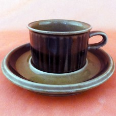 Arabia Finland Kosmos After Dinner Cup & Saucer