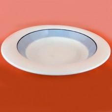 Arabia Finland Pudas Arctica Rim Soup 8 inches diameter