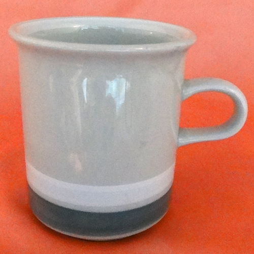 """SALLA Arabia Finland Cup /& Saucer 3.5/"""" tall made in Finland NEW NEVER USED"""