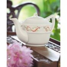 """Belleek Tea Pot 5"""" tall"""