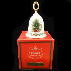 """CHRISTMAS TREE by Rosina-Queen's Bell 4.5"""" tall"""