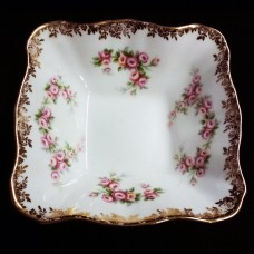 DIMITY ROSE by Royal Albert Square Candy Dish 4.5""