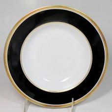 Ginori Contessa Black Rim Soup