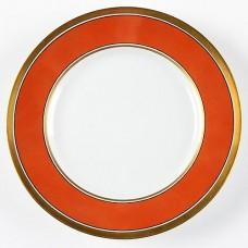 Ginori Contessa Rust Red Salad Plate