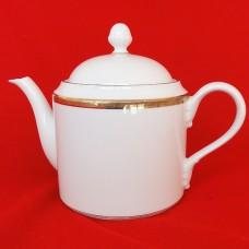 "Ginori Dorato Coffee Pot 7.75"" tall"