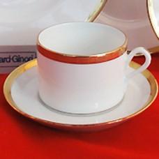 Ginori Dorato Cup & Saucer
