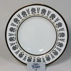 Ginori Ercolano Black Rim Soup Bowl