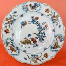 Haviland Limoges Golden Quail Dinner Plate