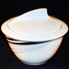 Hutschenreuther Maxim's de Paris Accent Covered Sugar Bowl