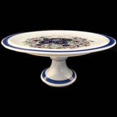 """MAZURKA by Goebel Footed Cake Stand 6"""" tall"""