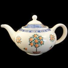 "ORANGERY by Wood & Sons Tea Pot 5.75"" tall"