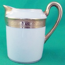 """AMBASSADOR GOLD by Raynaud Limoges Gold Creamer 3.5"""" tall"""