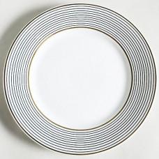 CRINOLINE BLACK Raynaud Limoges Bread & Butter Plate