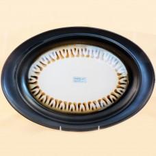 """RHONE by Goebel Oval Platter 13"""" long"""
