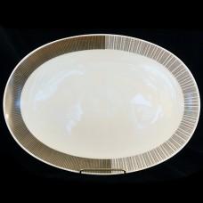 """Rosenthal ARABESQUE Oval Platter 15"""" NEW Germany"""