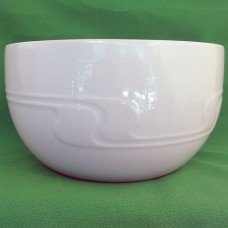 "Rosenthal Assimetria White Open Vegetable Bowl 4"" tall"