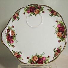 "Royal Albert Old Country Roses 8"" Hostess Tray"
