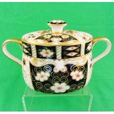 Royal Crown Derby Traditional Imari Covered Sugar Bowl
