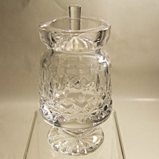 """Waterford Honey Pot / Covered Sugar 5"""" tall"""