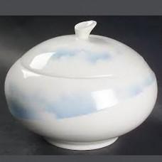 Wedgwood Clouds Blue Covered Sugar