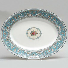 Wedgwood Florentine Turquoise Platter 15.5 inches long