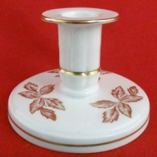 Wedgwood Gold Tonkin Candlestick Tall 2.5 inches