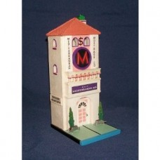 "Department 56 60 Medeterranean Ave Mortgage Co 13"" tall"