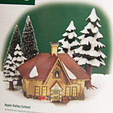 Department 56 Apple Valley School 56.56237
