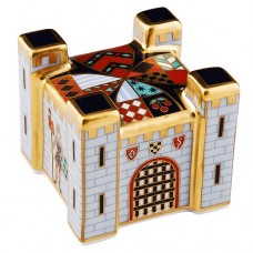 """Royal Crown Derby Fort Paperweight 2"""" tall"""
