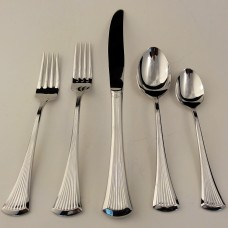 CREATION Lyon Line by International Stainless 5 Piece Place Setting