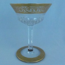 Saint Louis Thistle Saucer Champagne 5 inches tall