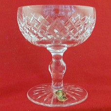 "Waterford Boyne Tall Saucer Champagne 4.25"" tall"